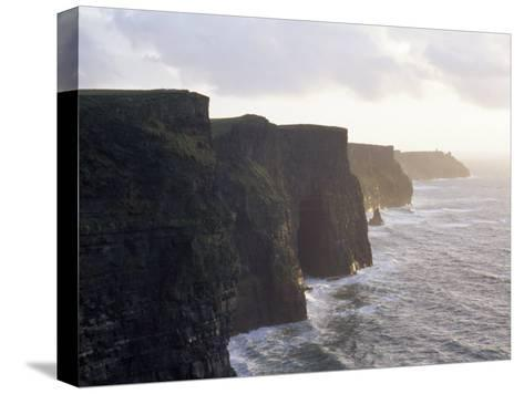 Cliffs of Moher Overlooking the Atlantic-xPacifica-Stretched Canvas Print