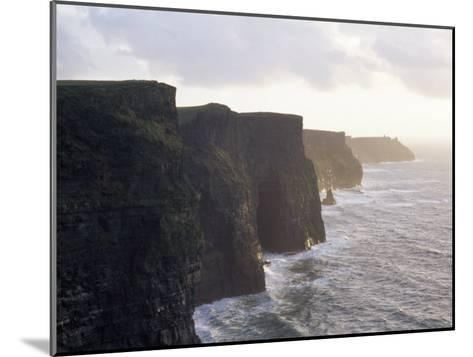 Cliffs of Moher Overlooking the Atlantic-xPacifica-Mounted Photographic Print