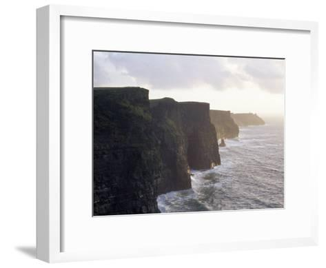 Cliffs of Moher Overlooking the Atlantic-xPacifica-Framed Art Print