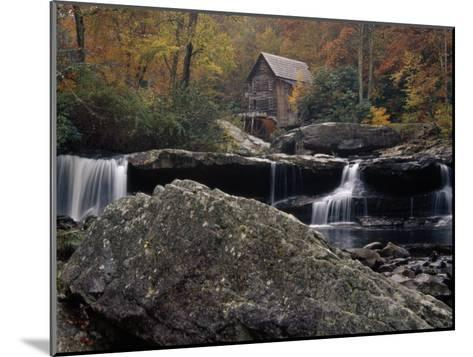 Fully Operational Grist Mill Sells its Products to Park Visitors-Raymond Gehman-Mounted Photographic Print