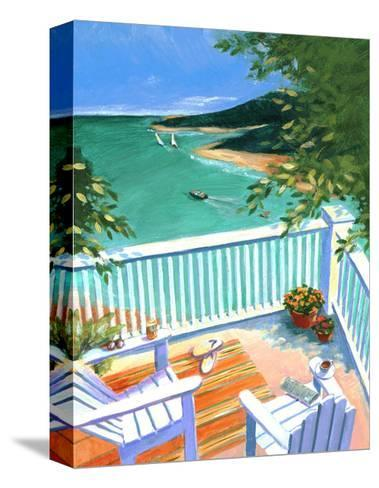 Lake View from the Terrace--Stretched Canvas Print