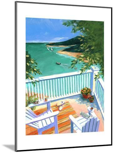 Lake View from the Terrace--Mounted Art Print