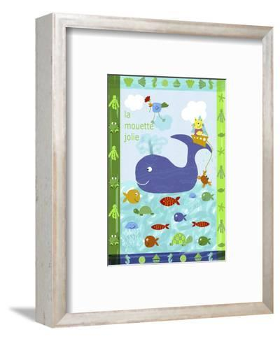 Cute Sea Creatures--Framed Art Print