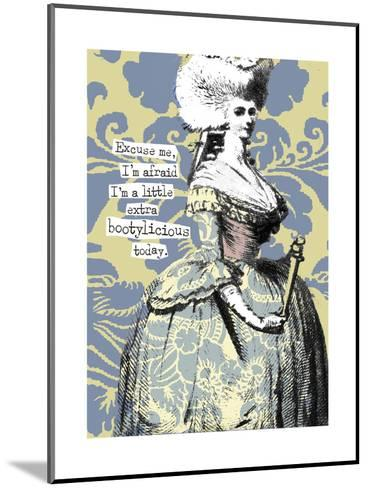 Victorian Woman with Coy Smile--Mounted Art Print
