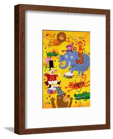 Crazy Circus Characters--Framed Art Print