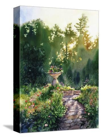 Garden Path--Stretched Canvas Print