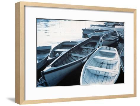 Rowboats--Framed Art Print