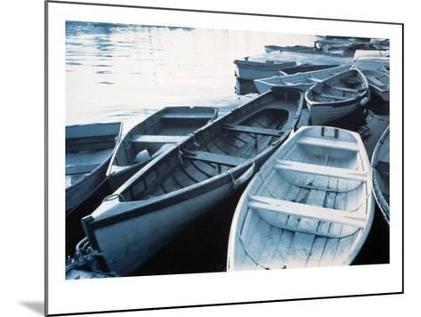 Rowboats--Mounted Photo