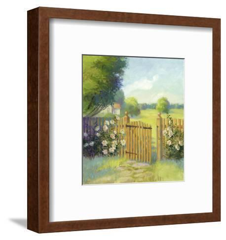 Garden Gate--Framed Art Print