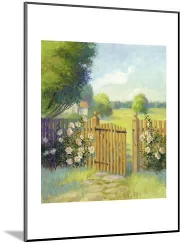 Garden Gate--Mounted Art Print