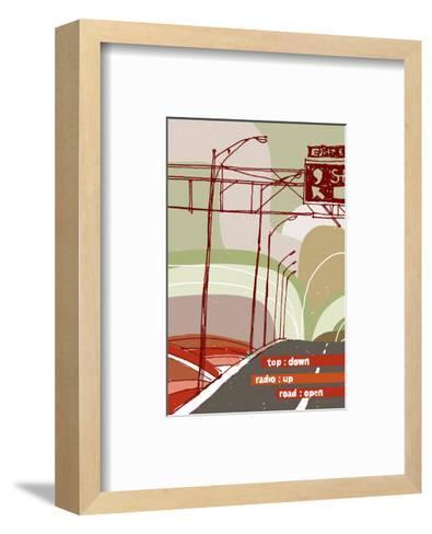 Road Trip--Framed Art Print
