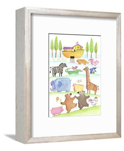 Road to Noah's Ark--Framed Art Print