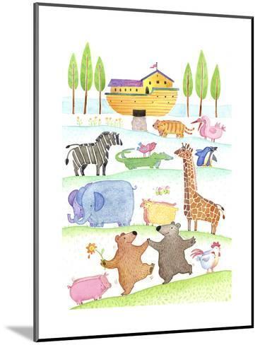 Road to Noah's Ark--Mounted Art Print