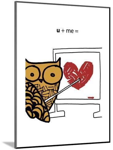 Love Owl--Mounted Art Print