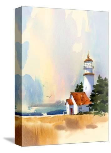 Lighthouse--Stretched Canvas Print