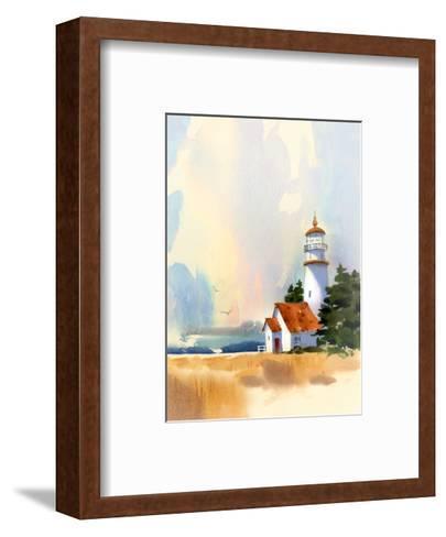 Lighthouse--Framed Art Print