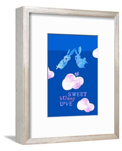 Sweet Bunny Love--Framed Art Print