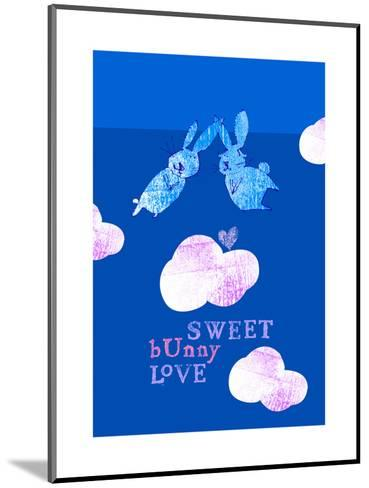 Sweet Bunny Love--Mounted Art Print