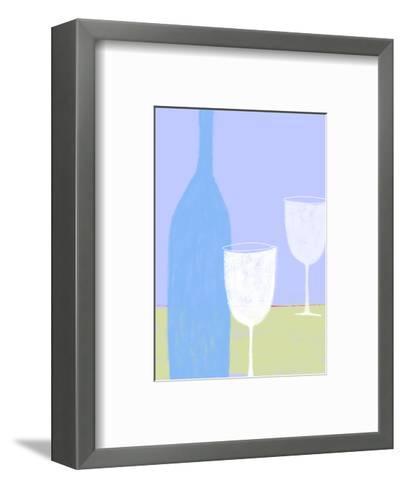 Wine Still Life--Framed Art Print