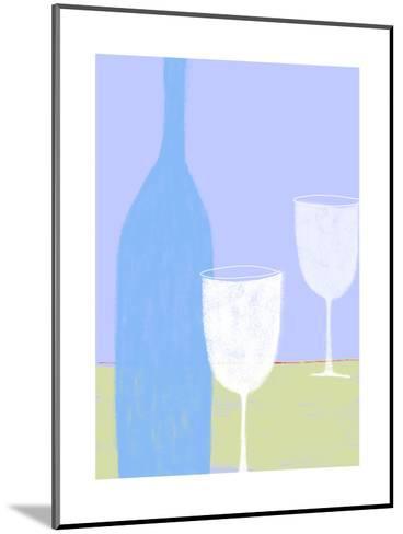 Wine Still Life--Mounted Art Print
