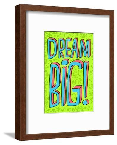 Dream Big--Framed Art Print