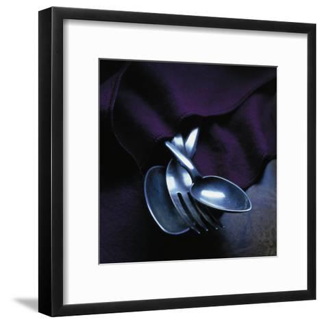 Spoons and Forks--Framed Art Print
