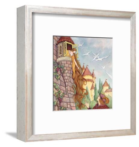 Rapunzel Fairy Tale--Framed Art Print
