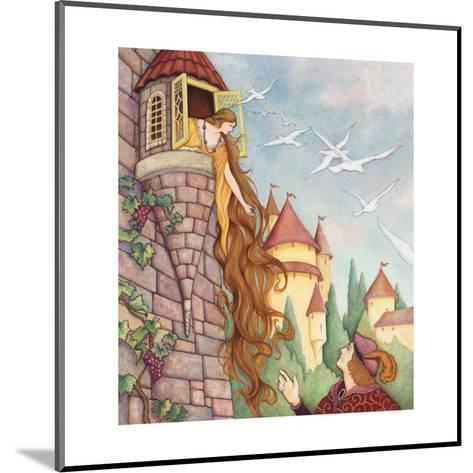 Rapunzel Fairy Tale--Mounted Art Print