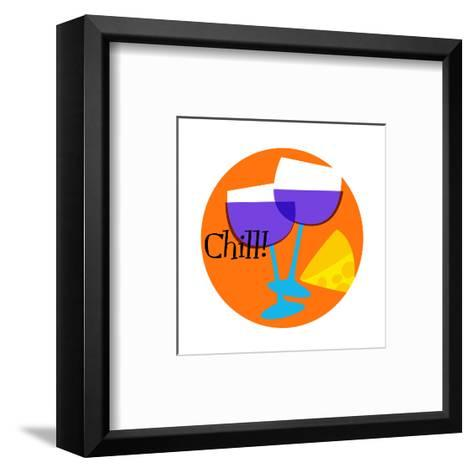 Chill--Framed Art Print