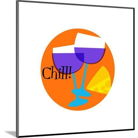 Chill--Mounted Art Print