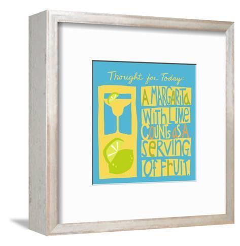Serving of Fruit--Framed Art Print
