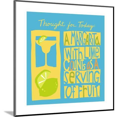 Serving of Fruit--Mounted Art Print