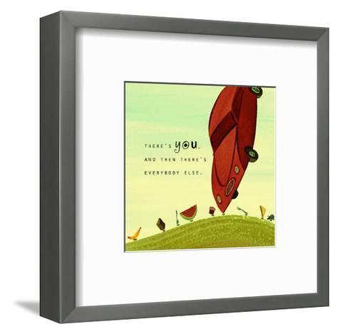 Be Different--Framed Art Print