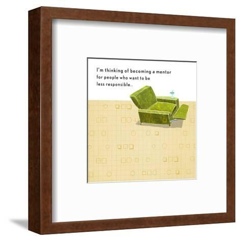 Becoming a Mentor--Framed Art Print