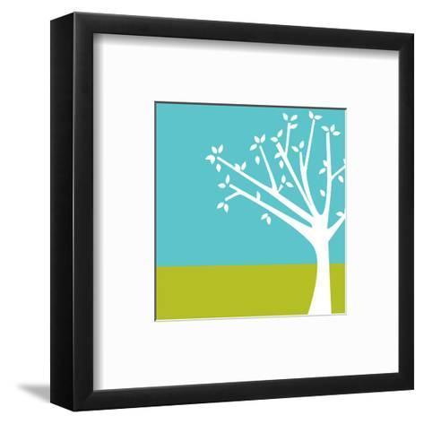 Budding Tree--Framed Art Print