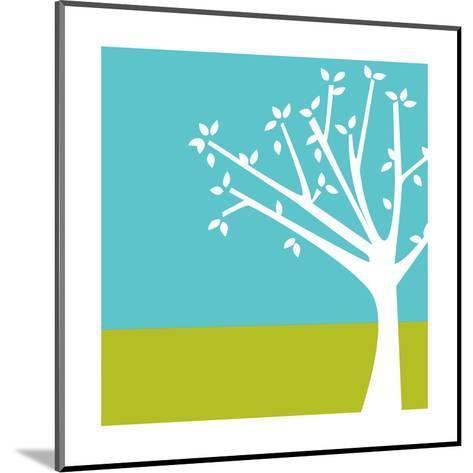 Budding Tree--Mounted Art Print