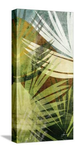 Palm Frond II-James Burghardt-Stretched Canvas Print