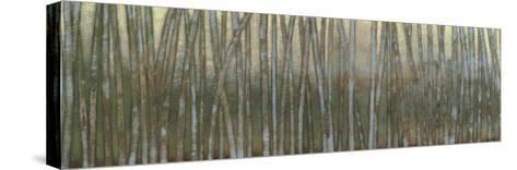 Blue Birch Forest I-Norman Wyatt Jr^-Stretched Canvas Print
