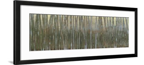Blue Birch Forest I-Norman Wyatt Jr^-Framed Art Print