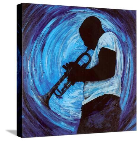 Kind of Blue--Stretched Canvas Print
