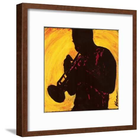 The Man with the Horn--Framed Art Print