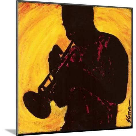 The Man with the Horn--Mounted Art Print