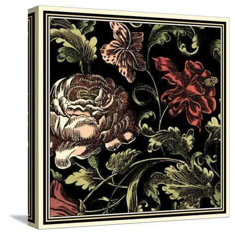 Floral Fancy I-Vision Studio-Stretched Canvas Print