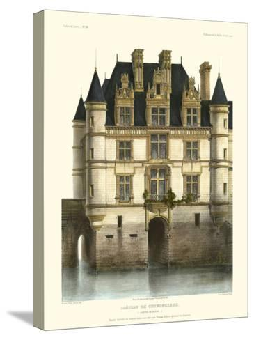Petite French Chateaux XI-Victor Petit-Stretched Canvas Print