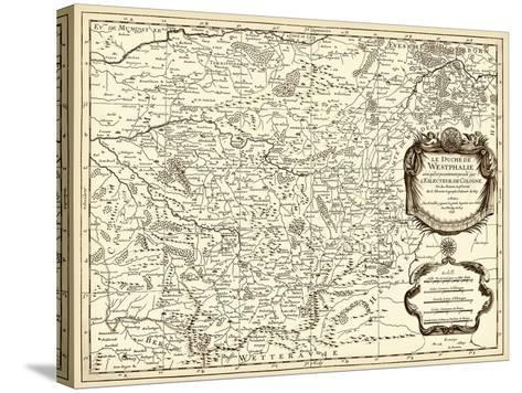 Antiquarian Map I-Vision Studio-Stretched Canvas Print