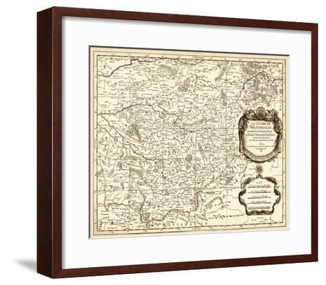 Antiquarian Map I-Vision Studio-Framed Art Print