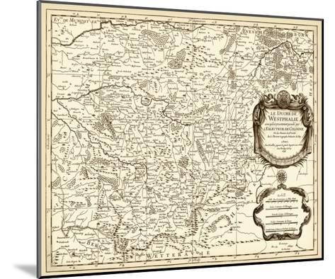 Antiquarian Map I-Vision Studio-Mounted Art Print