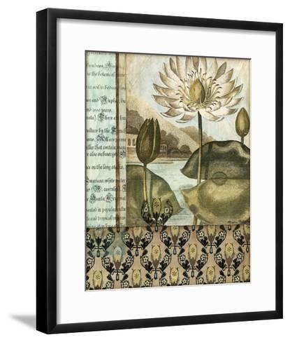 Elegant Water Lily I-Megan Meagher-Framed Art Print