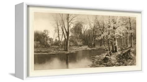 Tranquil Riverscape I-Julian Rix-Framed Canvas Print