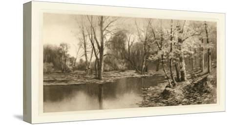 Tranquil Riverscape I-Julian Rix-Stretched Canvas Print